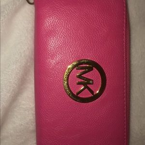 MK wallet slightly used